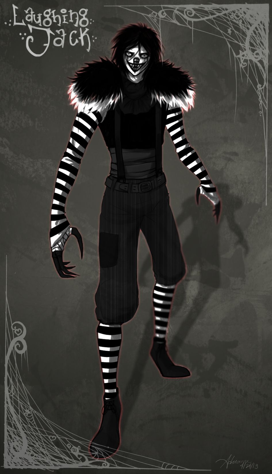 Pin by Abby Normal on Creepypasta | Laughing jack, Jack