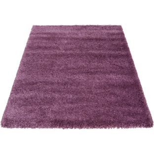 shaggy rug plum 80 x 140cm purple rug cheap
