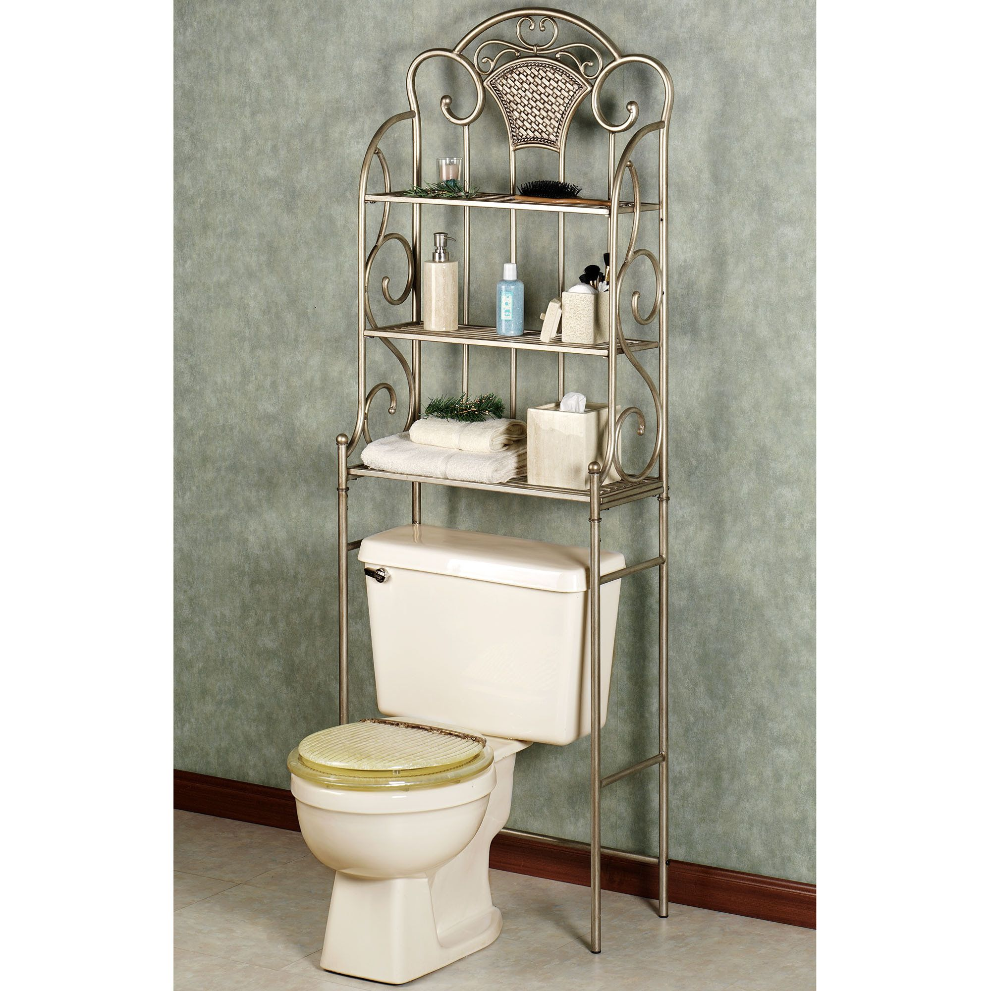 Bathroom Hutch Over Toilet. bathroom space saver shelves ideas ...