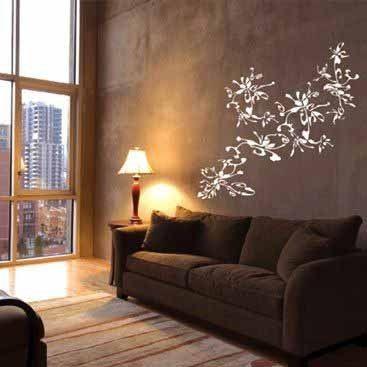 diseño-de-paredes-para-salas-8jpg (367×367) bello Pinterest
