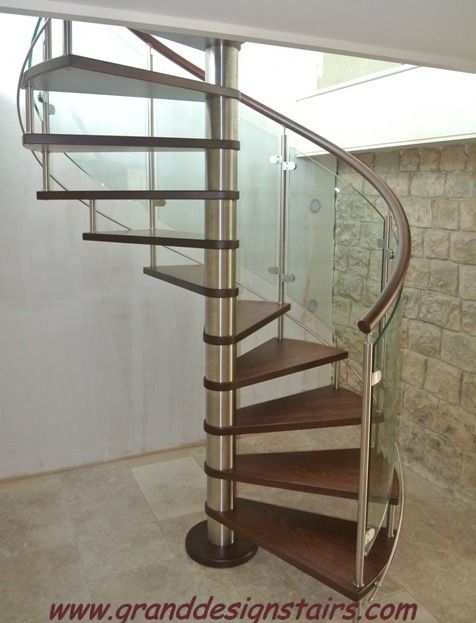 Best Curved Glass Stairs Modern Helical Crystal Staircases 400 x 300