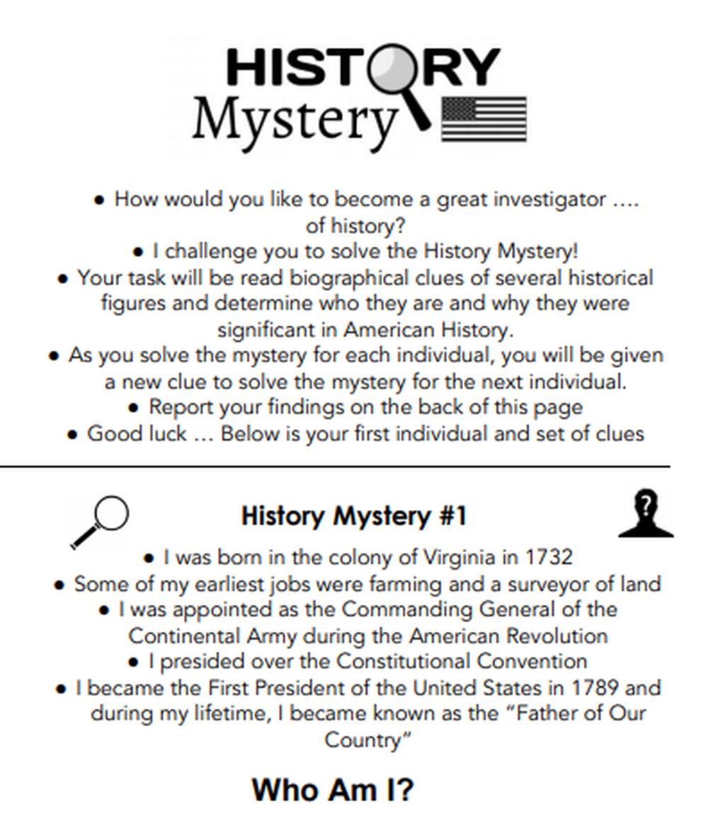 History Mystery - 8th Grade Social Studies STAAR Scavenger Hunt   Social  studies [ 1177 x 1000 Pixel ]