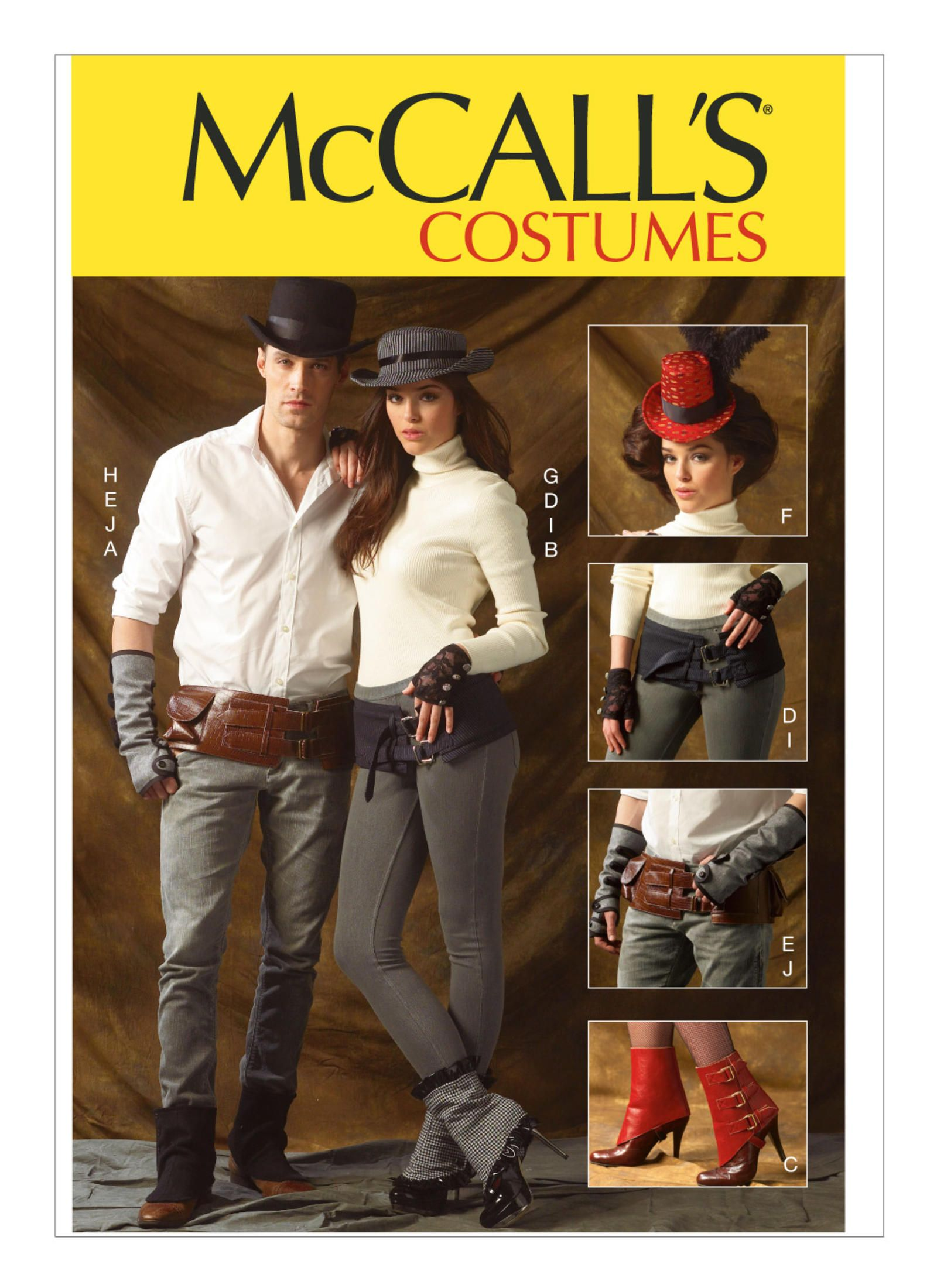 McCall's M6975 Accessories (One Size) Mccalls sewing