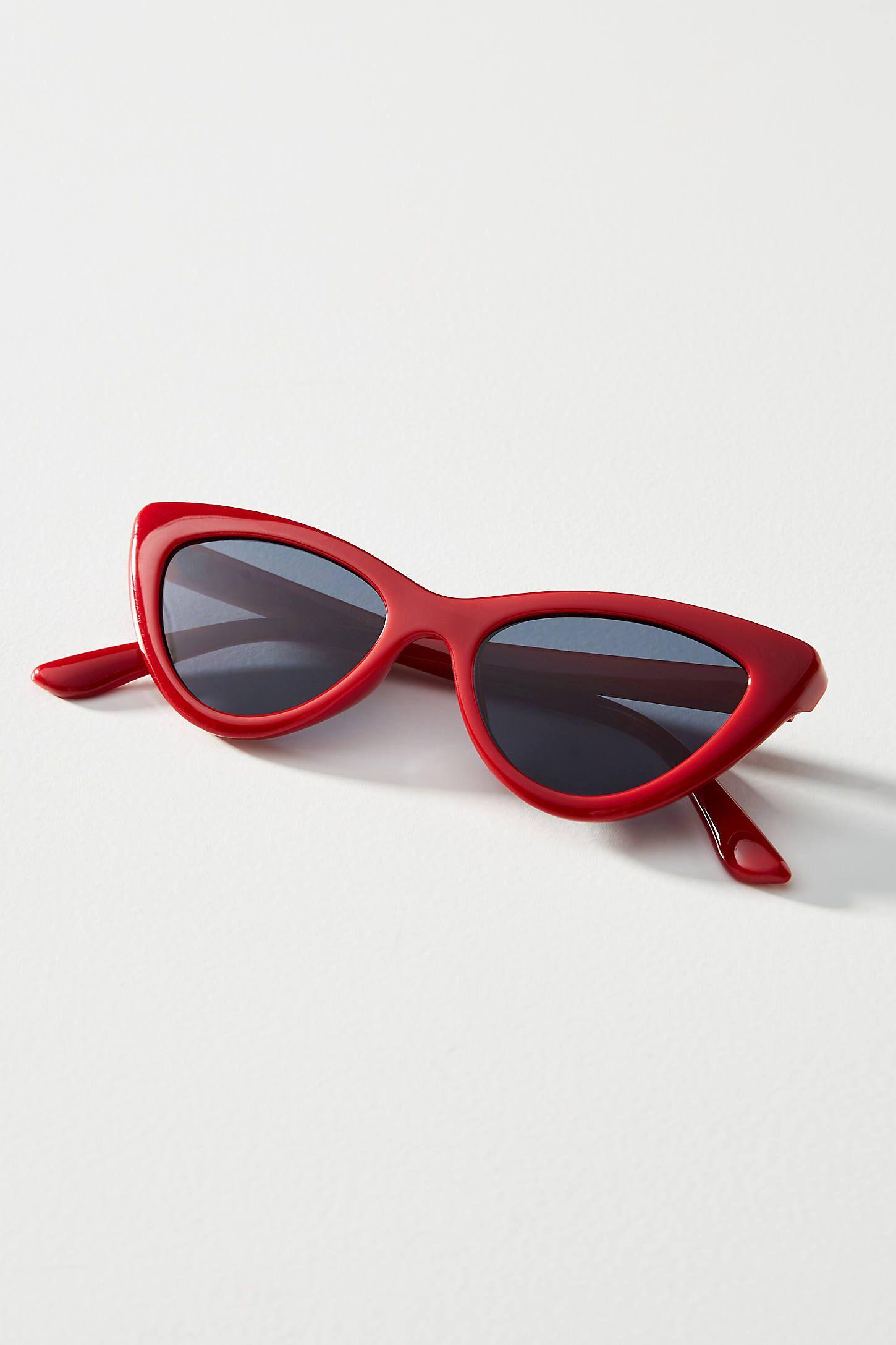 Margaux Cat Eye Sunglasses In 2020 Cat Eye Sunglasses Sunglasses Red Sunglasses
