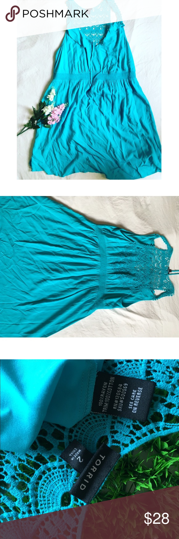 Torrid 2 bright blue dress | Bright blue dresses, Torrid and Blue ...
