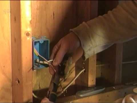 How To Tap Into An Existing Outlet To Run A Light Switch To Another Outlet.