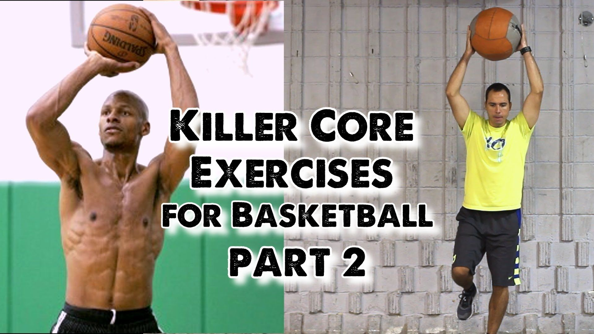 Killer Core Exercises for Basketball (Part 2) | Conditioning