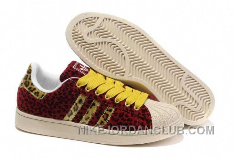834b2558a9133 ADIDAS SUPERSTAR 2 LEOPARD RED YELLOW SHOES FYJXJ Only $68.00 , Free  Shipping!