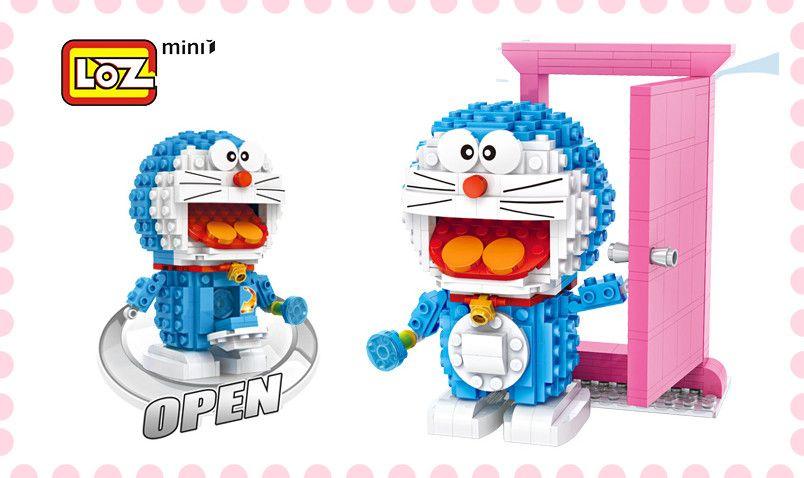 loz mini blocks doraemon it will give you a surprise grab it lozblock nanoblock ドラえもん anime cartoon lego miniblock bricktoy di doraemon lego minions