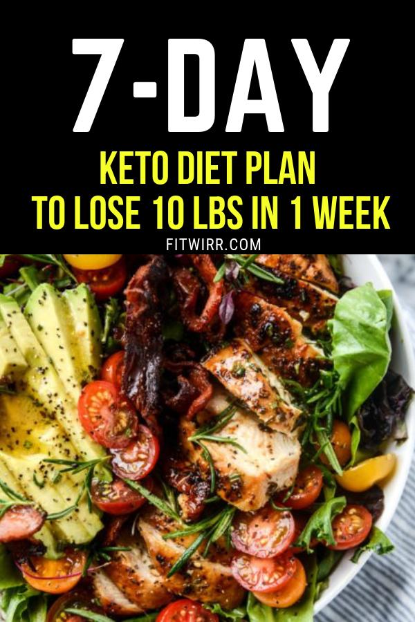 Keto Diet Menu: 7-Day Keto Meal Plan for Beginners #ketodietforbeginners