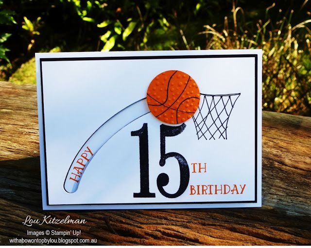 With A Bow On Top Birthday Cards For Boys Basketball Birthday Cards 16th Birthday Card