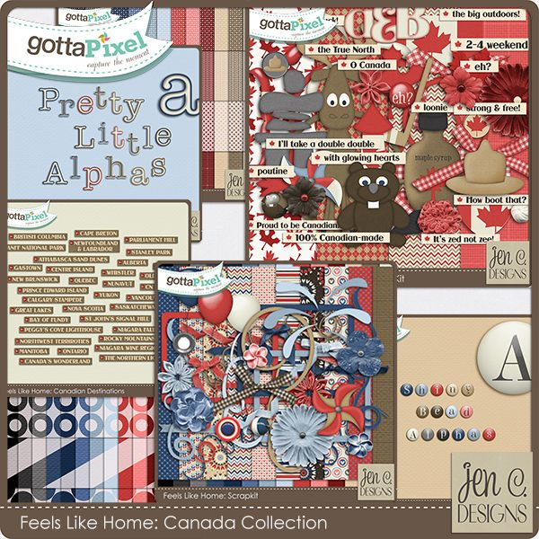 Feels Like Home Canada Collection By Jen C Designs At Gotta Pixel