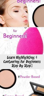 Photo of Learn step-by-step highlighting and contouring for beginners …