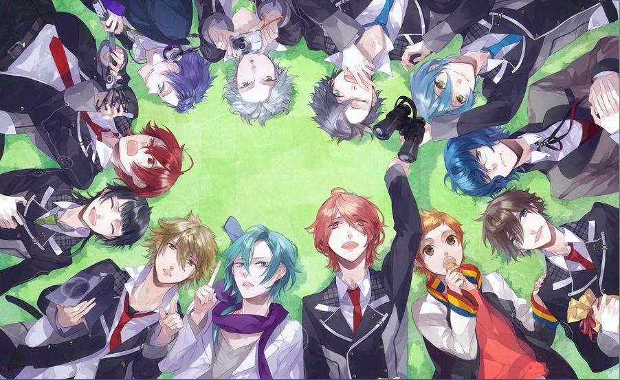 starry sky anime Fondos