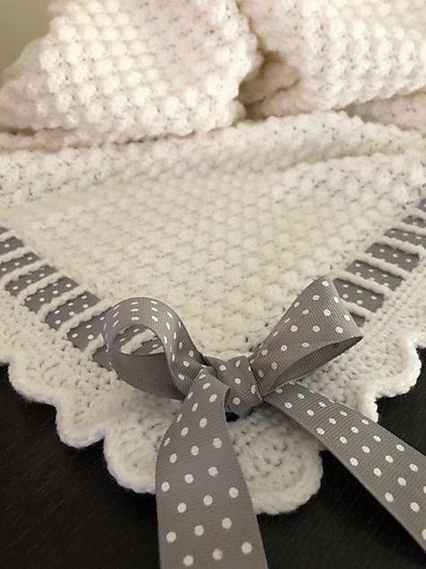 Mikeisha's Crochet Baby Blanket - - #Baby #blanket #crochet #mikeisha #Mikeisha39s #babyblanket