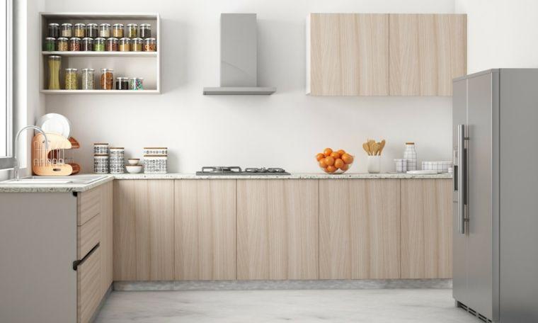 cocina gabinete forma l