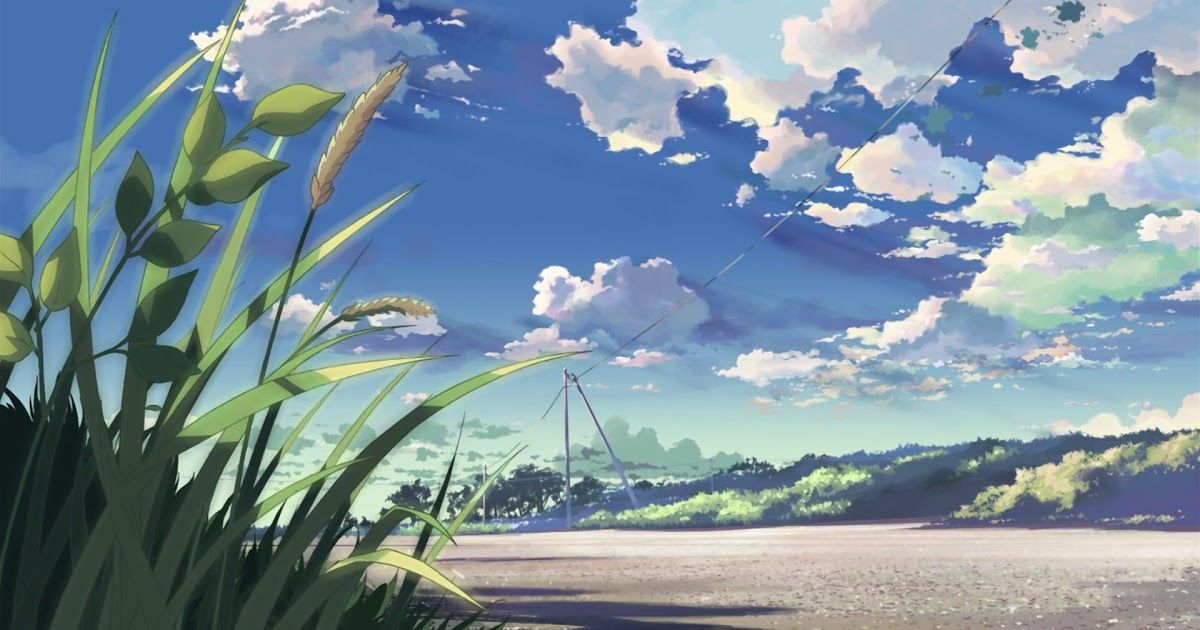 48+ Cool Anime Scenery Wallpaper 4K Iphone Download ...