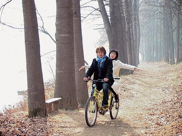 Image result for nami island bike kdrama