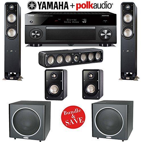 Yamaha RXA3060BL AVENTAGE 112Channel Network AV Receiver Polk Audio ...