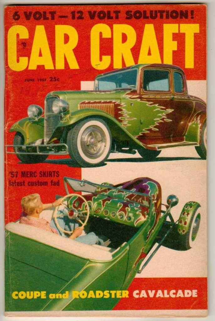 Car Craft June Old Vintage Magazine Classic Custom Hot Rod