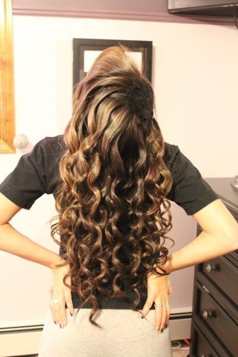 perfect curls!