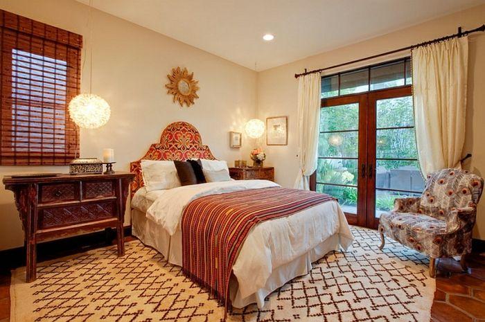 Schlafzimmer gestalten Schlafzimmer Design ocher gold sonne - schlafzimmer design ideen