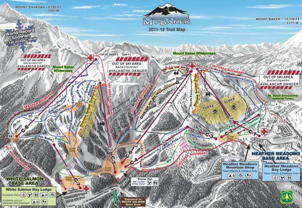 Mt. Baker, WA. Love my WA Mountains! | Mountains I\'ve ...