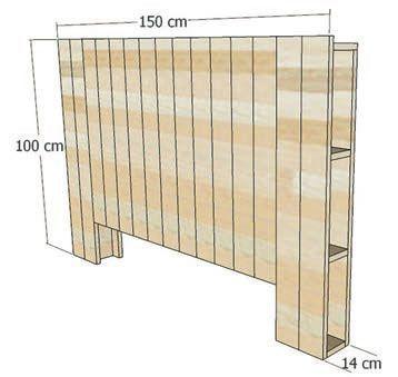 Comment Fabriquer Une Tete De Lit En Bois De Palette Comment Fabriquer Une Tete De Lit Lit Palette Bois Tete De Lit Bois