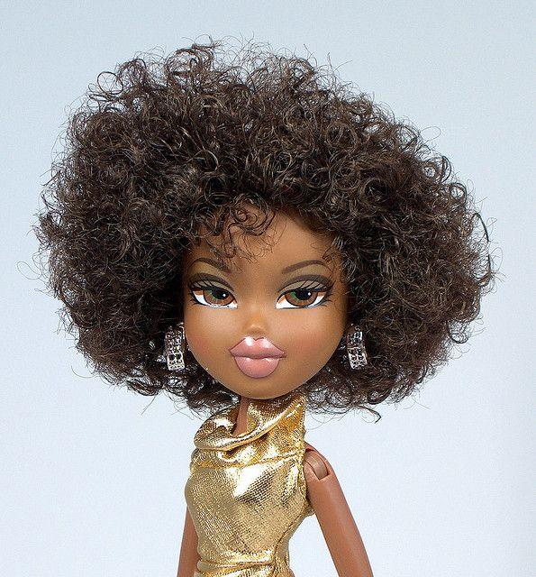 Bratz Sasha Black Bratz Doll Bratz Doll Makeup Natural Hair Doll