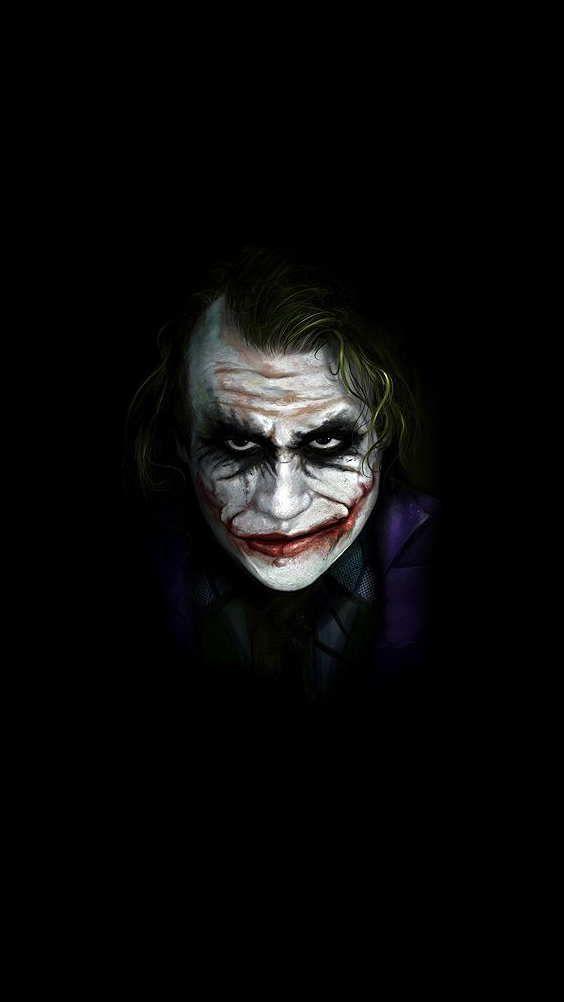 Joker wallpaper for iphone pro