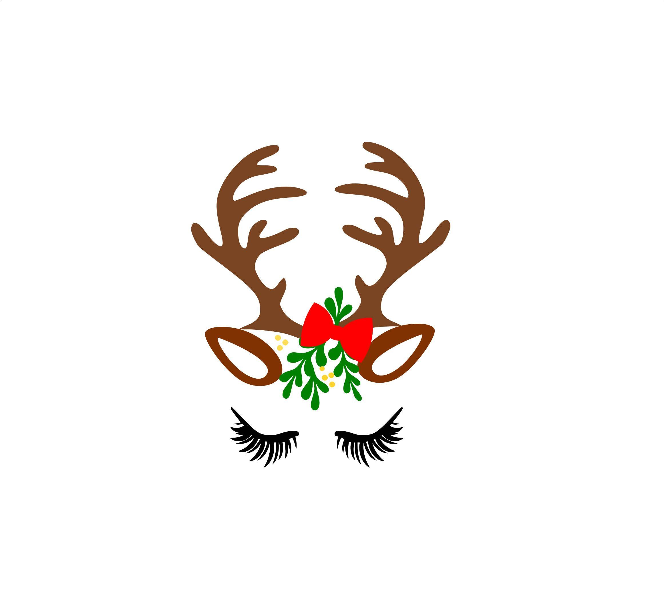 962e04fb015e1 Unicorn Reindeer svg