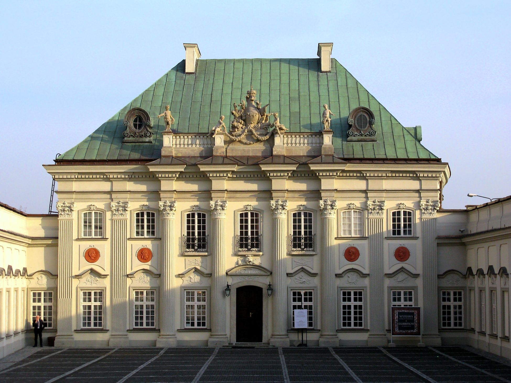 Warsaw Palace Copper Roof With Vertical Seams