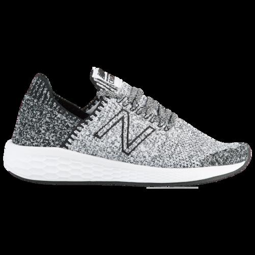 New Balance Frische Schaum Cruz V2 Socke Active Performance Laufschuhe – Schwarz / Weiß   – Products