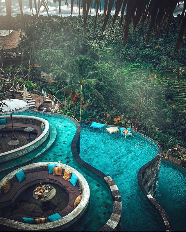 Jungle Pools In Bali Indonesia By Terplanet Bali Sevilla Triana Paisajes