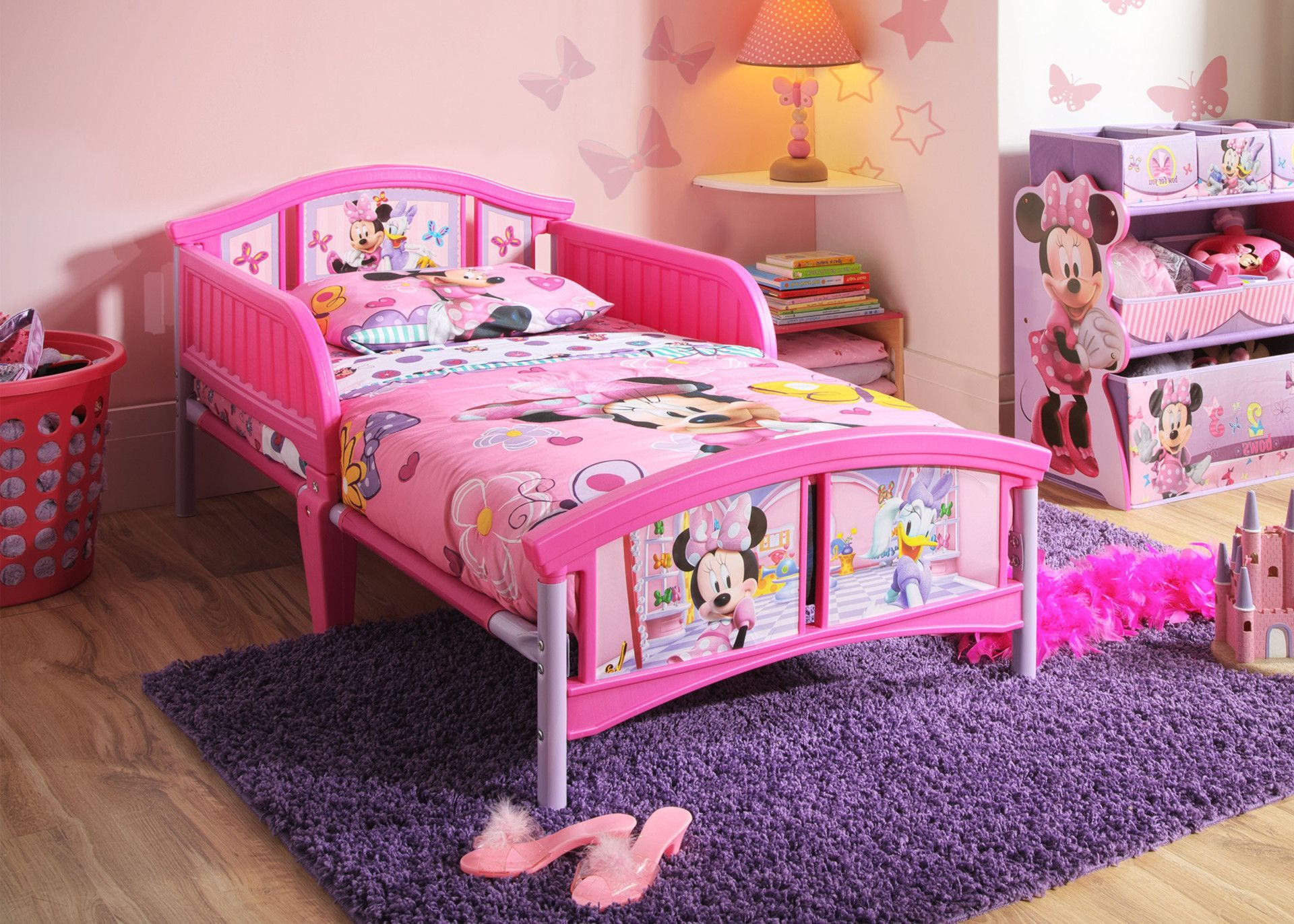 Best Minnie Mouse Plastic Toddler Bed In 2019 Toddler Bedroom 400 x 300