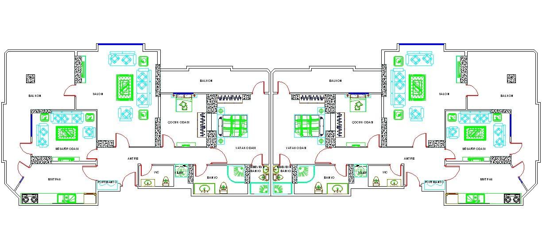 Dwg ad kiz villa plan izimi ndirme linki http for Villa plan dwg