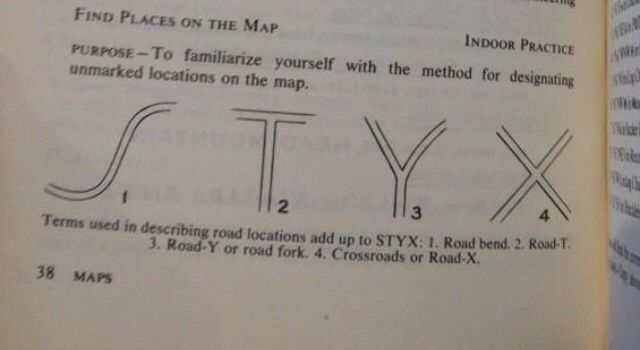 All roads are the Styx. What?