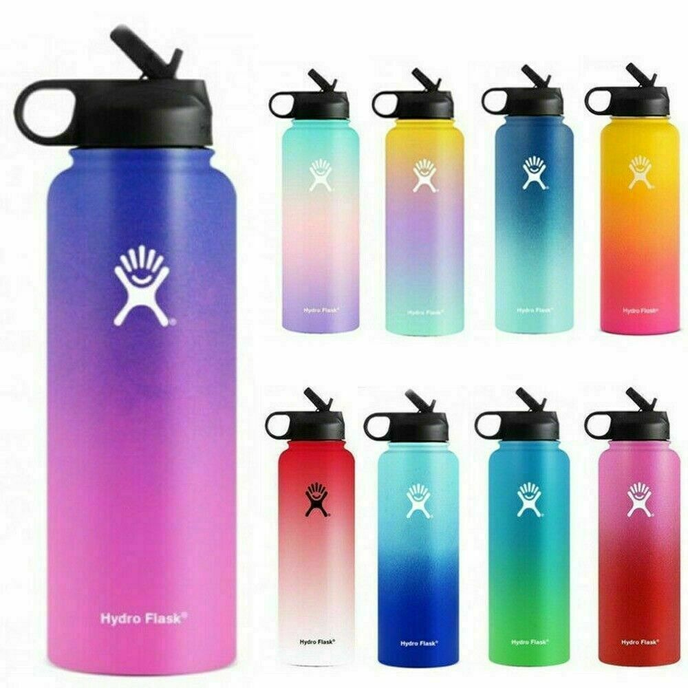 Hydro Flask Water Bottle Stainless Steel304 Insulated Wide