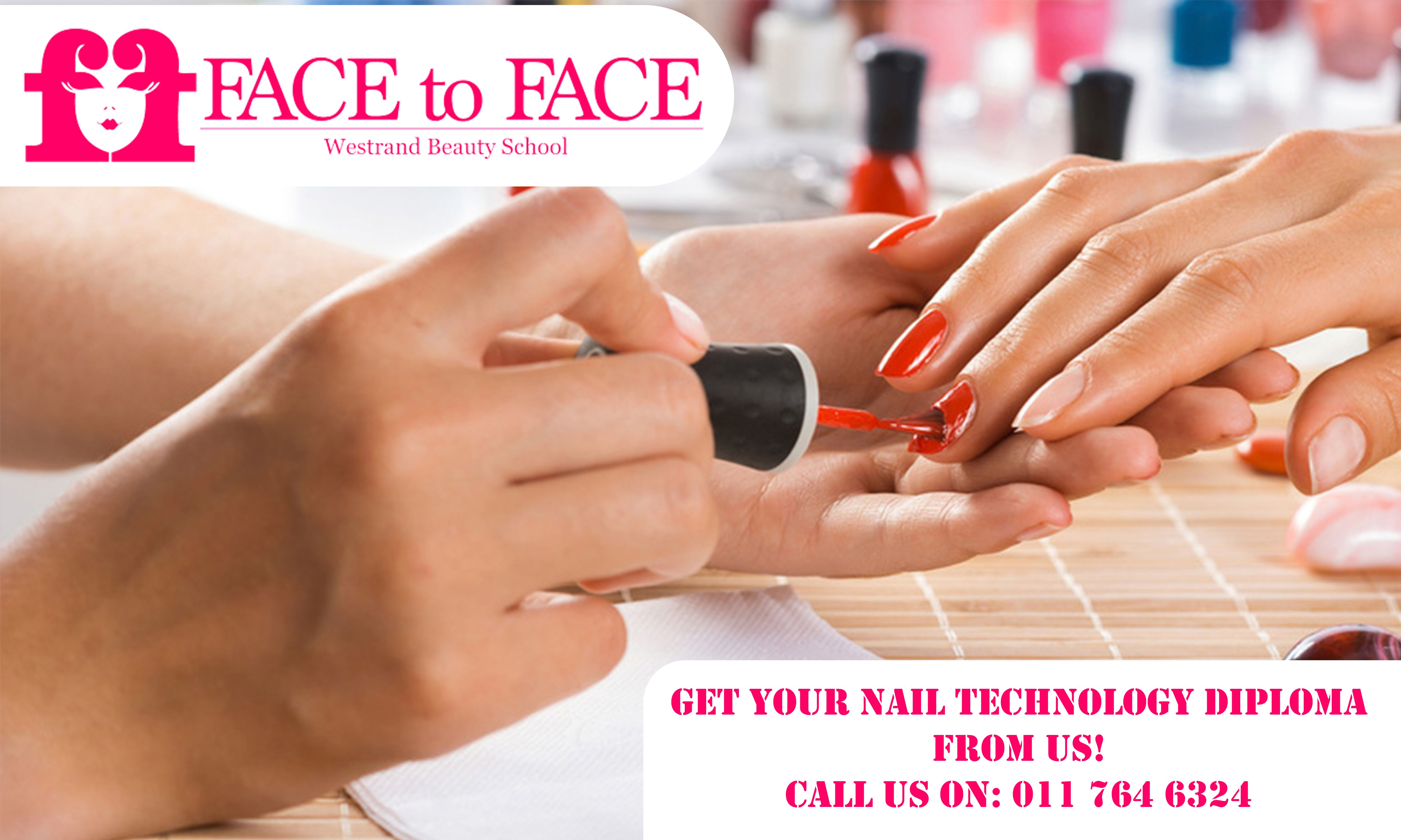 Get your Nail Technology Diploma from us! Our nail