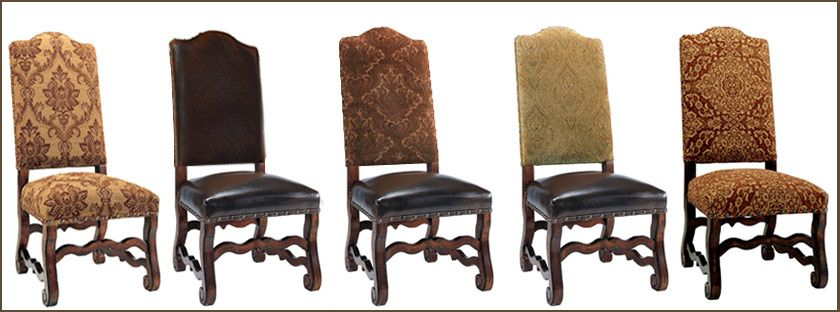 High End Furniture For Your Home Rustic Dining Chairs Tuscan