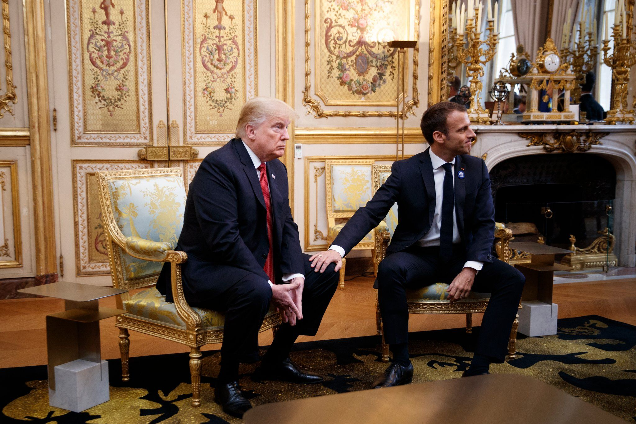 Macrons Response to Trump I Do Not Do Policy or Diplomacy