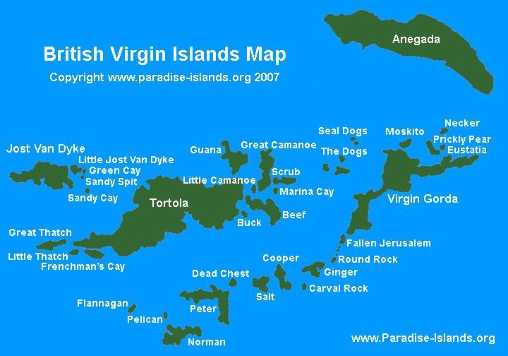The British Virgin Islands. We sailed all over in a catamaran! My ...