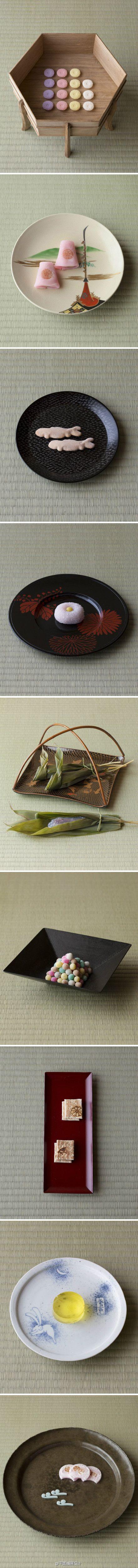 """木村宗慎:一日一叶—— 茶道有着诸多形式与约束,木村尝试符号化的试验,在体验传统茶道时开始一期一会的茶会。茶会的印象因茶室的氛围而变,其中叶子亦会由承载的器皿而左右茶室的表情。茶会的准备是""""选择""""的开始,选适宜的叶子,择相应的器皿,同为生命结缘相遇,一期一会而感知最美的一瞬 ——"""