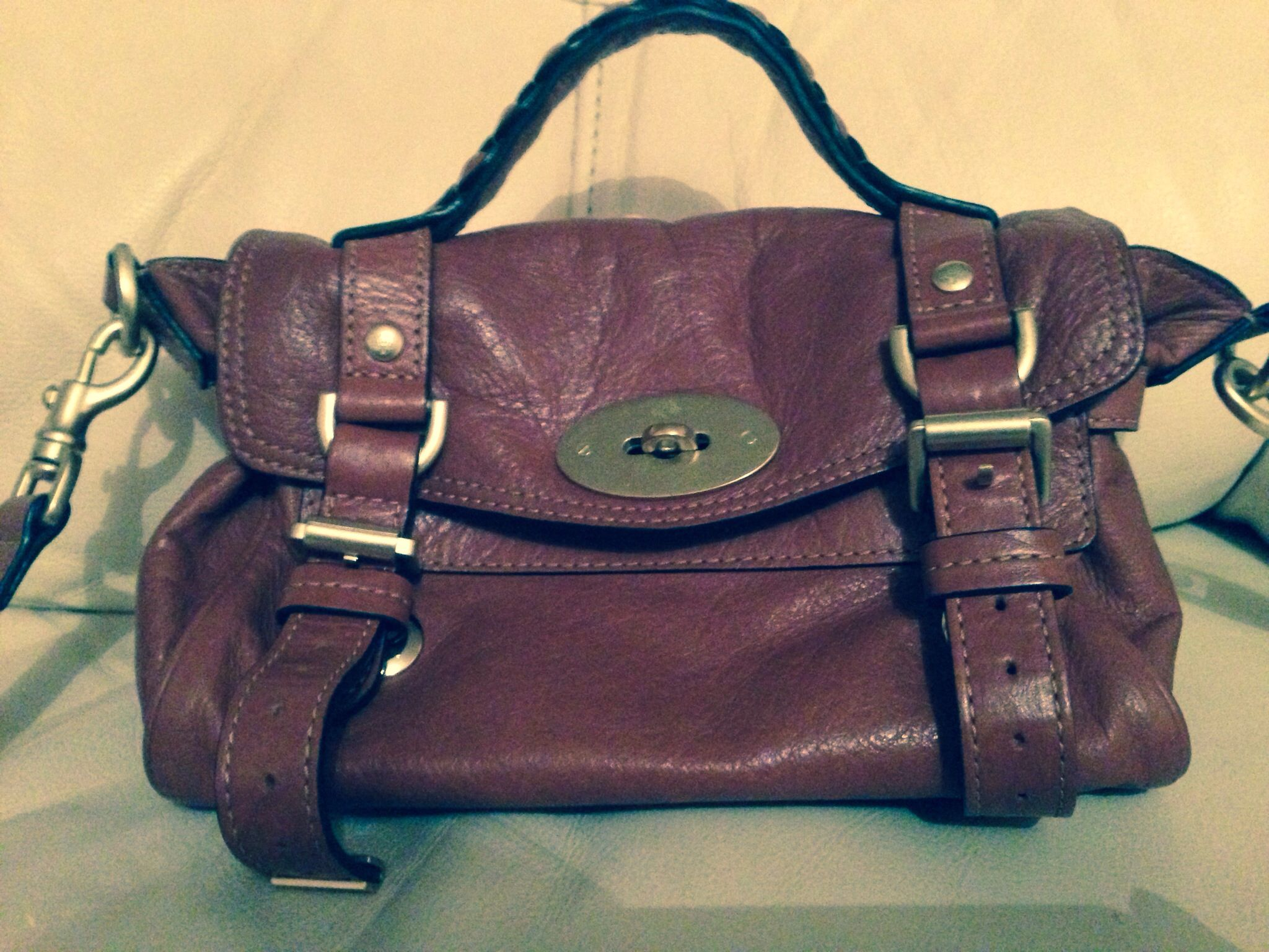 021b0d143529 Mini Mulberry Alexa handbag. Of all the bags I own this is deffo my  favourite