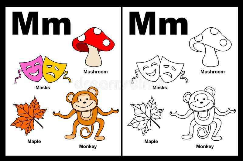 Letter M Worksheet Alphabet Letter M With Colorful Cliparts And Coloring Graphi Affiliate Alphabet Letter M Worksheets Coloring Books Alphabet Preschool Free letter m worksheets