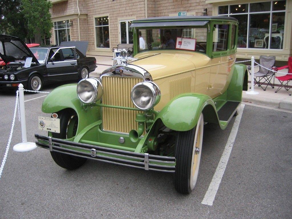 1927 cadillac victoria coupe