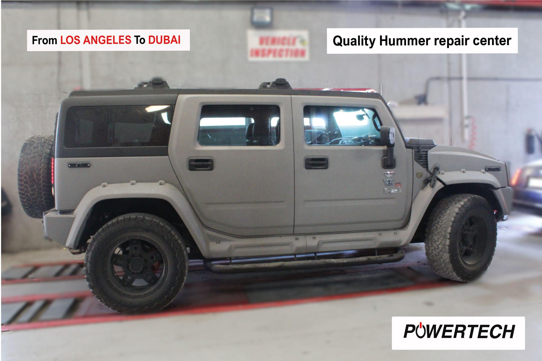 Hummer Repair Dubai Quality Hummer Service Center Dubai Call 800 787 Car Repair Service Auto Service Hummer