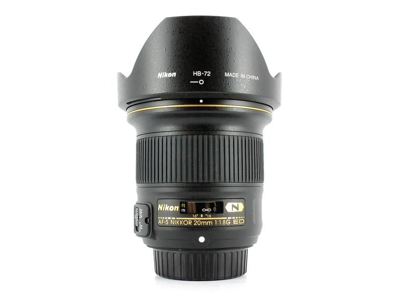 Used Nikon Af S 20mm F 1 8g Ed Camera Nikon Nikon Photo Gear