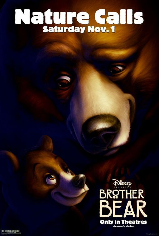 Brother Bear Movie Poster 2003