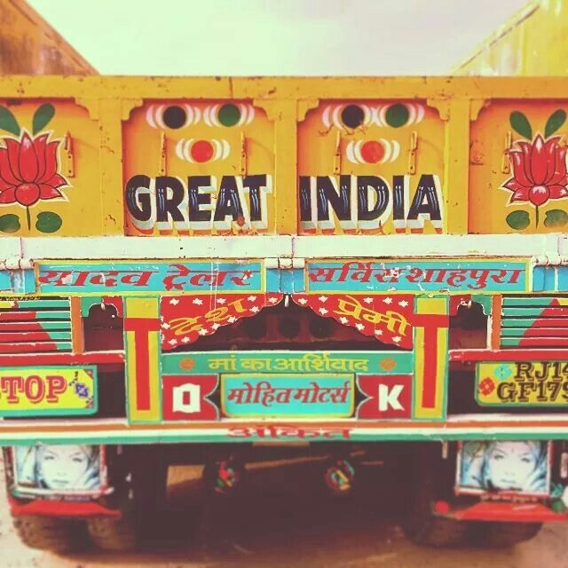 3eb032749ebfa Indian Truck Art | Beauty of India Tours | India Private Drive Tours | Your  Delhi, Rajasthan and North India Specialist visit us at:  www.beautyofindiatours. ...